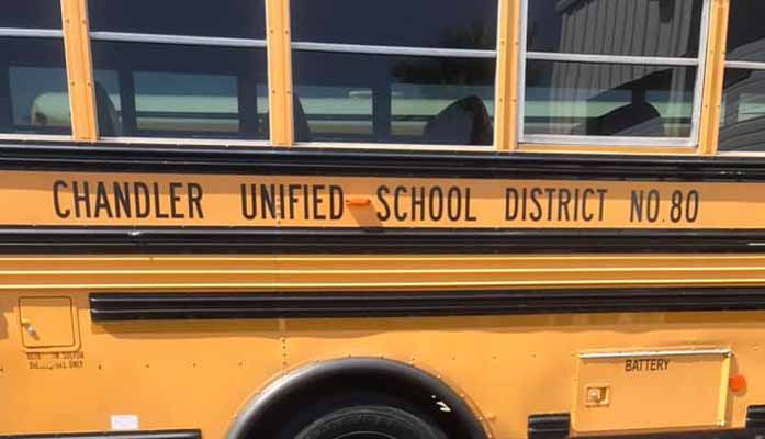 Chandler Unified School District Bus Driver Arrested for Suspected DUI With Driving Students