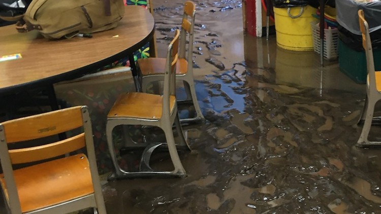 Flooding Causes Flagstaff School to Cancel Classes