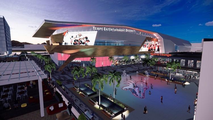 Arizona Coyotes Unveil $1.7 Billion Plan for Proposed Tempe Arena Entertainment District