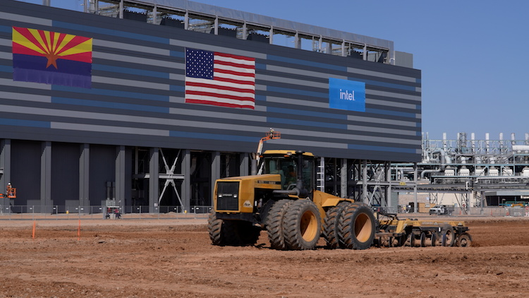 Intel Breaks Ground On Two New Semiconductor Factories