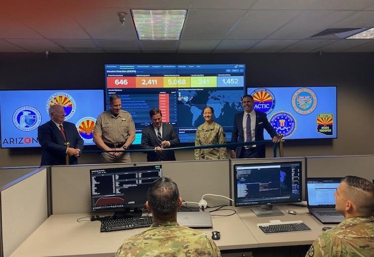 Arizona Launches New Cyber Command Center